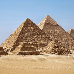 La pirámide está compuesta por tres cámaras principales