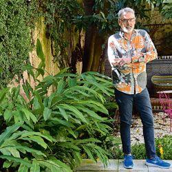En su casa de Palermo predomina el color, el arte y los artículos únicos. Es su refugio.    Foto:Marcelo Escayola