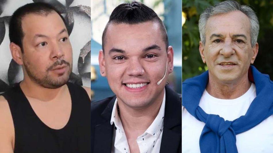 Sebastián Romero, Brian Lanzalotta y Jesús Cariligno-20210908