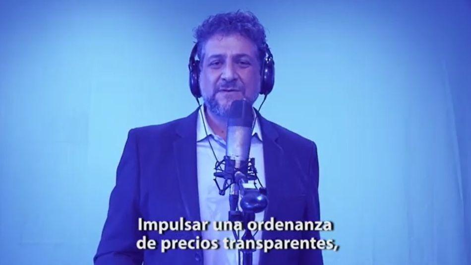 Un candidato a consejal de La Plata usó una Session de Bizarrap para su spot