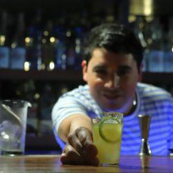Bar Florería Atlántico, cóctel Probar Brasil por Tato Giovannoni.