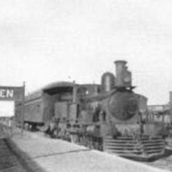 La llegada del Ferrocarril del Sud le dio un gran impulso económico a la ciudad.