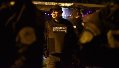 Sergio Berni encabezó el operativo en la ciudad de Rosario.