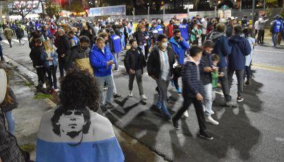 vuelta del público a las canchas Argentina vs Bolivia