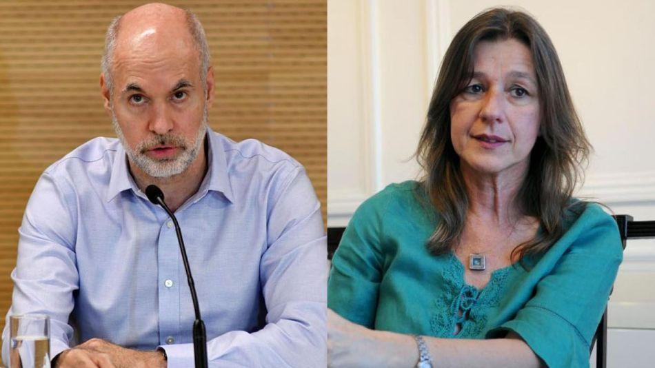 Horacio Rodríguez Larreta y Sabina Frederic 20210909