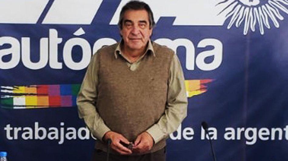 Hugo Godoy, secretario general de la Asociación Trabajadores del Estado. 20210909
