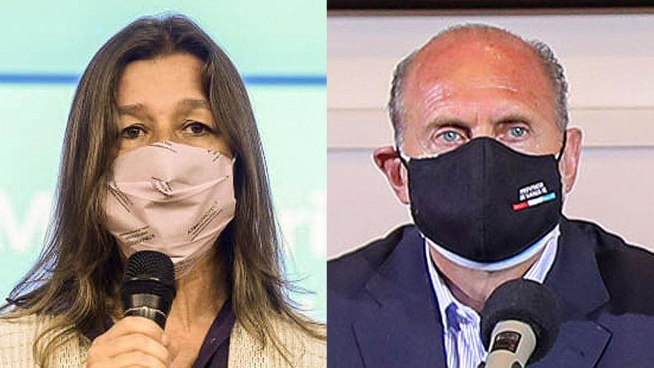 Sabina Frederic y Omar Perotti  20210909