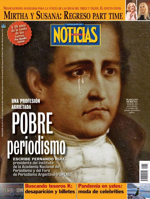 Tapa Nº 2333: Pobre periodismo, una profesión agrietada | Foto:Pablo Temes