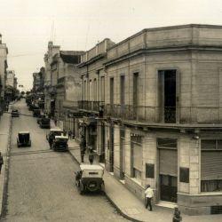 Los primeros edificios céntricos.