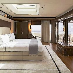 Interior del barco Attila | Foto:Cedoc