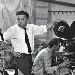 Federico Fellini   Foto:Cedoc
