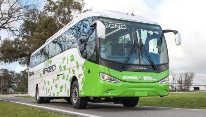 Así es el novedoso bus a GNC de corta, media y larga distancia