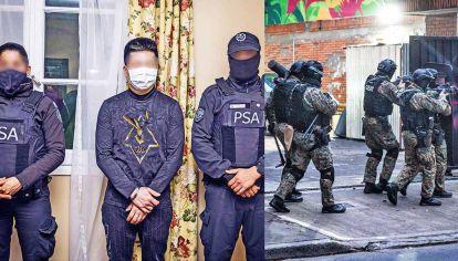 ¡Alto, policía!. Los oficiales de la PSA ejecutaron 16 allanamientos en CABA, Lomas del Mirador, Bella Vista y José C. Paz. Cayeron cuatro presuntos narcos, tres de origen chino.