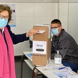Dora Blazevich Manes, madre del precandidato a diputado por Juntos, Facundo Manes   Foto:CEDOC