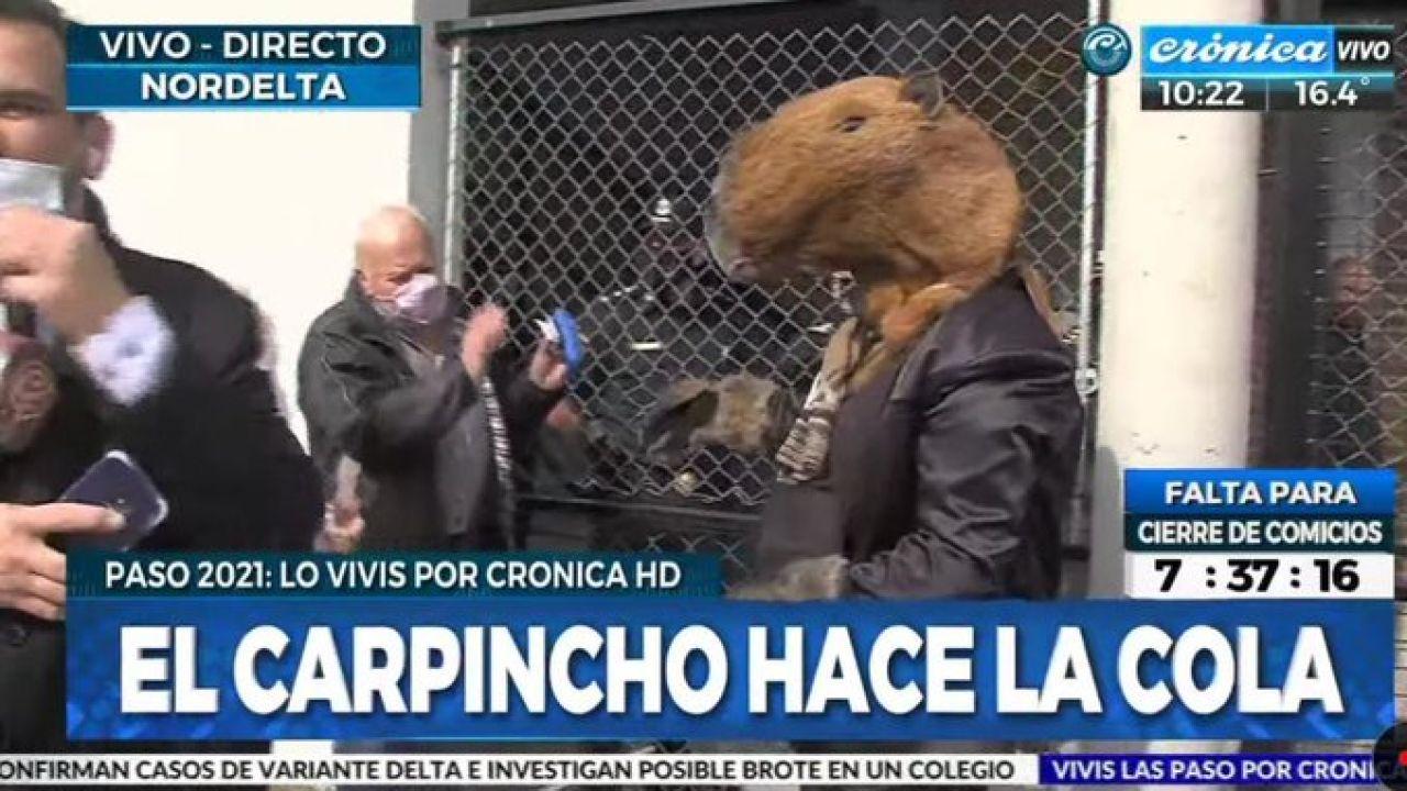 Crónica TV. | Foto:CEDOC.