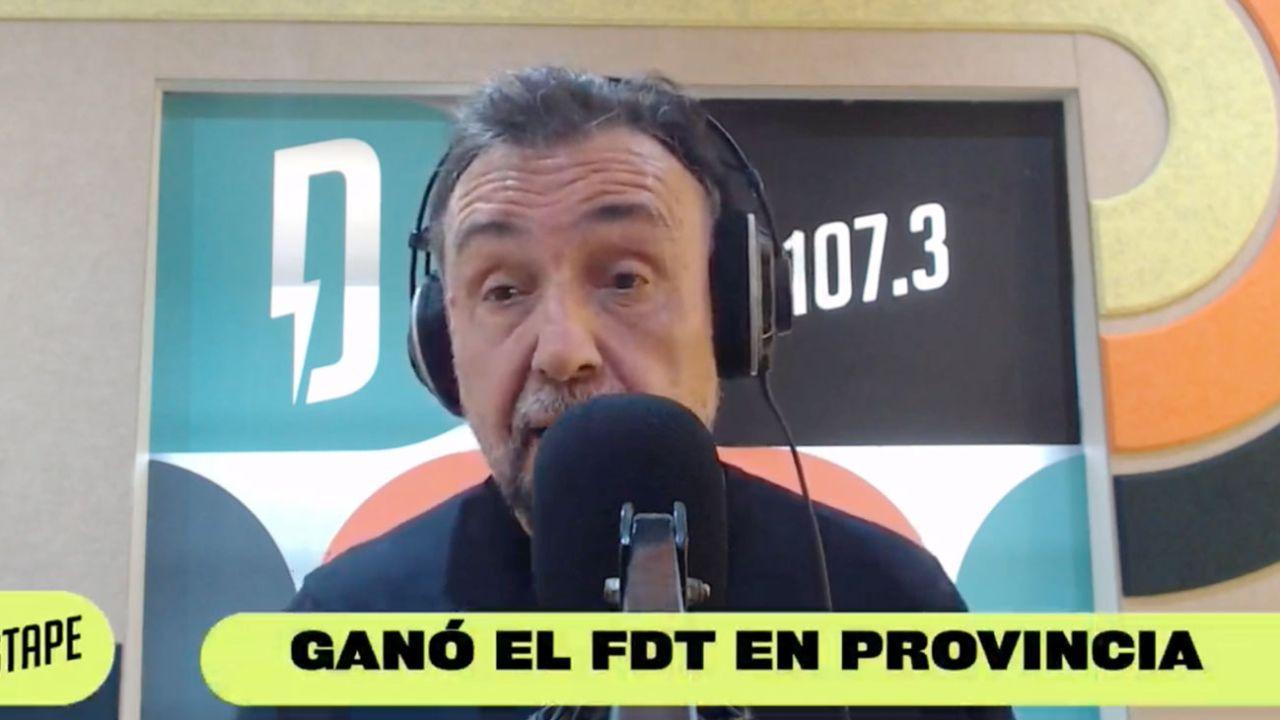 Roberto Navarro anunció un triunfo del FDT en Provincia | Foto:Captura de Instagram