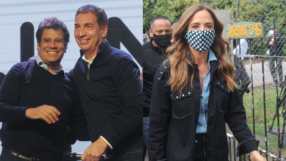 Diego Santilli, Facundo Manes Victoria Tolosa paz 20210912