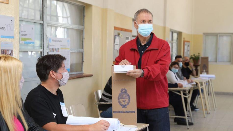 Schiaretti voto Córdoba 12-09-21