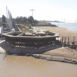 Esta bajante del río Paraná es considerada la más importante en el país desde el año 1944.