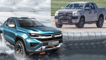 Aparece la nueva generación de Volkswagen Amarok