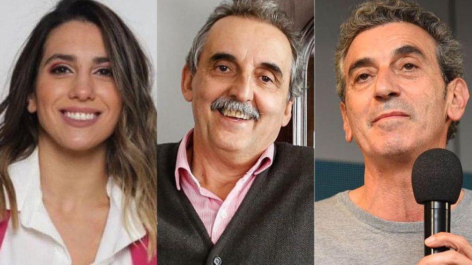 Cinthia Fernández, Guillermo Moreno y Florencio Randazo 20210912