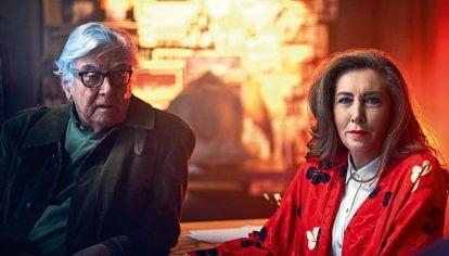 Blasco Giurato y Francesca Fabbri Fellini