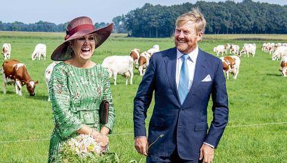 Máxima Zorreguieta reinó en los campos de Holanda con su look campestre