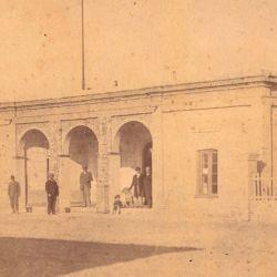 Vista de la primera Casa de Gobierno.