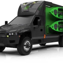 El prototipo en cuestión surge de un trabajo colaborativo entre Zeus Electric Chassis Inc. y SylvanSport.