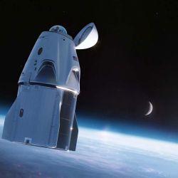 Se utilizará una cápsula Crew Dragon muy particular, ya que contará con una enorme cúpula de cristal en lugar del dock de acoplamiento.