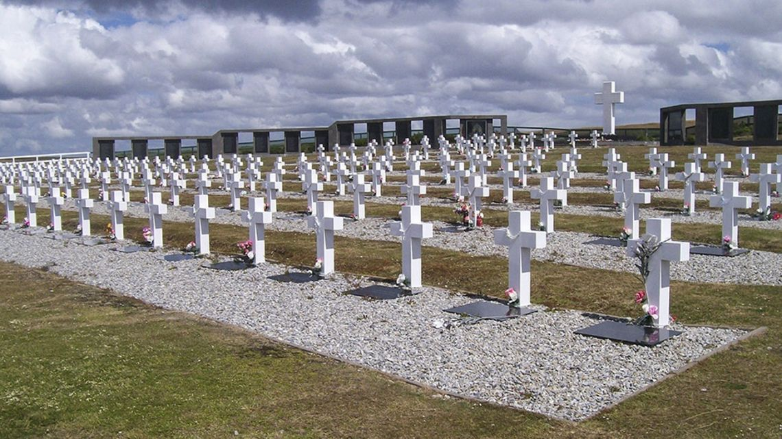 Darwin Cemetery, Malvinas Islands.