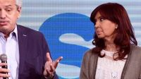 Cristina Kirchner y el presidente Alberto Fernández