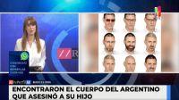 El argentino que mató a su hijo en España fue encontrado muerto