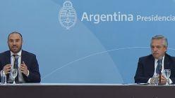 Alberto Fernández y Martín Guzmán
