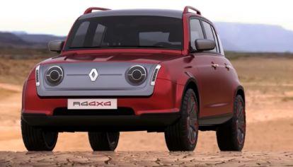 Renault 4ever, la variante aventurera de los próximos R4 y R5