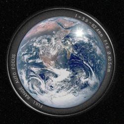 Nunca se había sacado una foto de la Tierra y la Luna juntos, desde el espacio profundo.