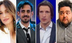 Verónica Lozano, Soy Rada, Iván de Pineda y Dario Barassi