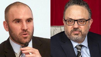 Martín Guzmán y Matías Kulfas