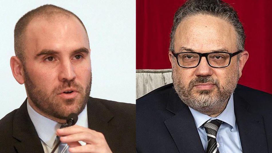 Martín Guzmán y Matías Kulfas 20210916