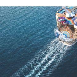 La línea de cruceros Royal Caribbean anuncio la partida de la nueva nave que recorrerá el Caribe y Europa en un itinerario de 7 dias.