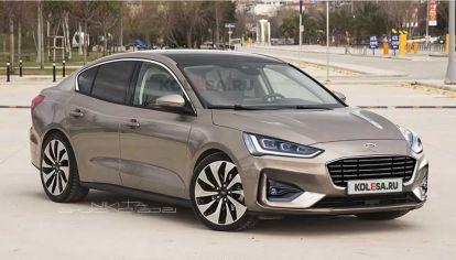 Así sería el nuevo Ford Focus sedán