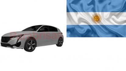 Peugeot registró el nuevo 308 en Argentina