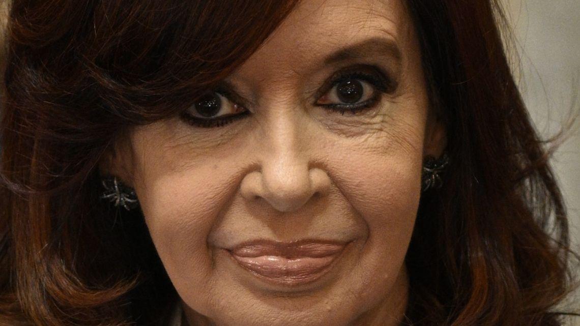 Vice-President Cristina Fernández de Kirchner.