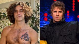 Mariano Martinez y Liam Gallagher