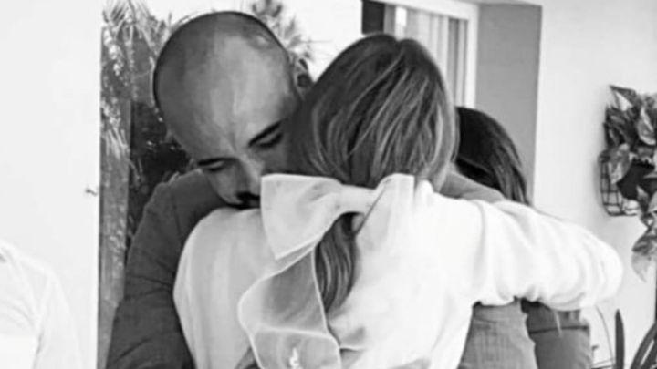Abel Pintos se casócon Mora Calabrese