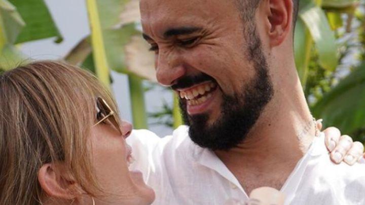 Abel Pintos se casó por iglesia: así fue la íntima ceremonia