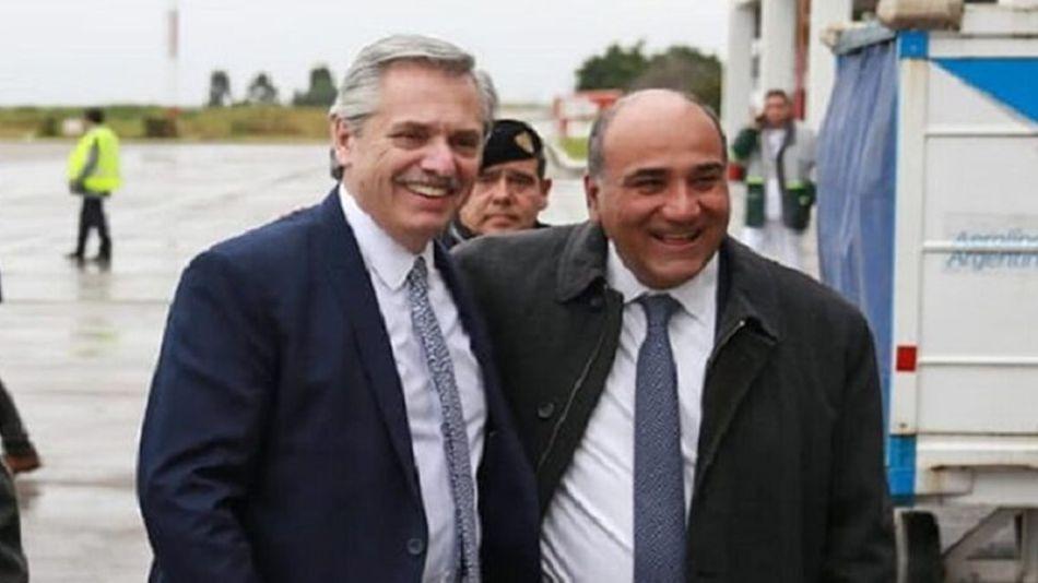 Alberto Fernández y Juan Manzur