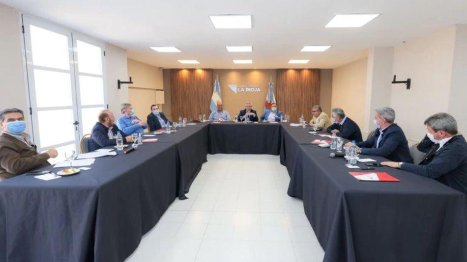 la Rioja Alberto Fernández gobernadores g_20210918