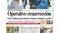 La tapa del Diario PERFIL del domingo 19 de septiembre de 2021.