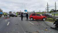 Tragedia en Panamericana: en un choque múltiple murieron dos jóvenes de 19 años.